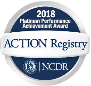 Billings Clinic NCDR Action Registry Platinum Performance Achievement Award for heart attack care